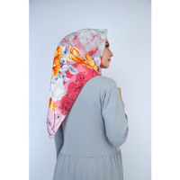 Motif Segi Empat Abstrak Hijab Jilbab Kerudung Square MC7 laris