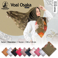 Motif Segi Empat Abstrak Hijab Jilbab Kerudung Square VS1 laris