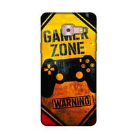 Casing Samsung C9 Pro Warning Gamer Zone P2160