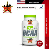 Suplemen Fitness BCAA MP 3 1 2 6000mg 240Capsules MUSCLE PHARM