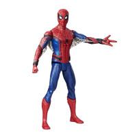 Mainan Action Figure Spiderman Elektronik 30cm untuk Koleksi