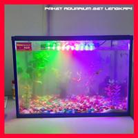 Paket aquarium ikan hias cupang set LENGKAP - akuarium mini ikan hias