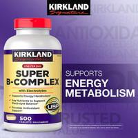 Kirkland Signature Super B-Complex with Electrolytes (500 Tablets)