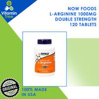 Now Foods L-Arginine 1000mg 120 TABLETS Now Arginine 120 Tabs