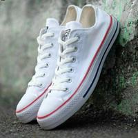 Converse Putih LOW Sepatu Pria Wanita