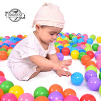 Mainan Bola Plastik Lembut Warna-Warni Untuk Kolam Renang Bayi/Anak