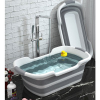 BATHE PROJECT Bak Mandi Bayi Lipat Foldable Baby Bathtub 60 x 40CM - Z
