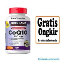 Kirkland Signature CoQ10 300 mg 100 Softgels Suplemen J