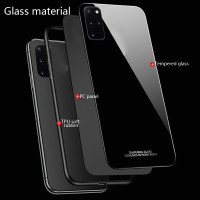 Galaxy S20 S20 Plus Ultra Hard Case Tempered Glass Mirror Phone