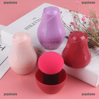 Makeup Sponge Mushroom Head Dry Wet Dual Purpose Puff Clear