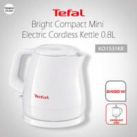 Tefal KO1531KR Bright Compact Mini Electric Cordless Kettle 0.8L