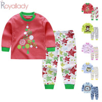 Kids Pajamas Outfit Nightwear Outfit Autumn Cartoon TopPants