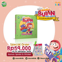 Cerita si Bulan Koki Super - Teh Leci Segar (Boardbook)