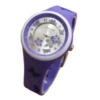 Fortuner Jam Tangan Kasual Anak Perempuan JA1045 Purple - Rubber Strap