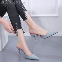 Lancip Sepatu High Heels Sexy Model Ujung