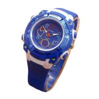 Fortuner Jam Tangan Anak dan remaja Putri JA758 Blue - Rubber Strap -
