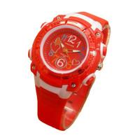 Fortuner Jam Tangan Anak dan remaja Putri JA758 Red - Rubber Strap - A