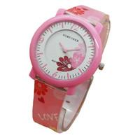 Fortuner Jam Tangan Anak Putri JA825 Pink - Rubber Strap - Analog Move