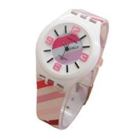 Fortuner Jam Tangan Anak dan Remaja Putri JA878 White - Rubber Strap -