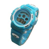 Fortuner Jam Tangan Unisex Anak 1600 Aqua - Rubber Strap - Digital Wat