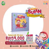 Cerita si Bulan Koki Super - Sup Mentari Pagi (Boardbook)