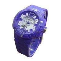 Fortuner Jam Tangan Anak Putri 872 Purple - Rubber Strap - Analogue Mo