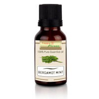 MNA - Happy Green Bergamot Mint Essential Oil 80ml Minyak Lemon Mint