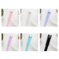 12Pcs Cats Gel Pen Cute Pen Stationary Kawaii Sool Supplies Gel Ink