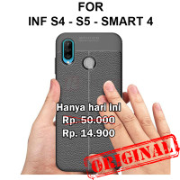 Case Infinix S4 - S5 - Smart 4 casing hp cover tpu Leather Auto Focus