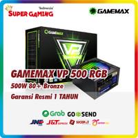 PSU GAMEMAX VP 500W RGB Promo Gaming Murah