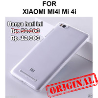Soft Case Xiaomi Mi4i Mi 4i casing back cover tpu silikon ULTRA CLEAR