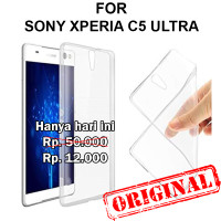Soft Case Sony Xperia C5 Ultra casing hp cover tpu silikon ULTRA CLEAR