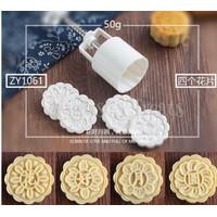 Cetakan Kue Bulan Nastar Mould Mold Plunger/Moon cake Oriental 50gr
