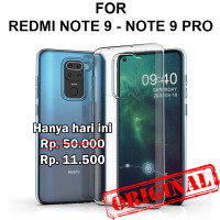Soft Case Xiaomi Redmi Note 9 - 9 Pro casing hp cover tpu ULTRA CLEAR