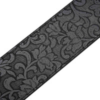 P&P PU Leather Strap for Electric Acoustic Guitar Embossed