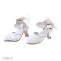 Sepatu High Heels Model Ujung Lancip Untuk Boneka Blythe 1: 6