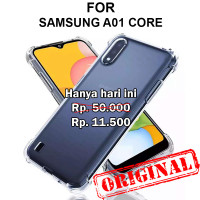 Soft Case Samsung A01 Core casing hp silikon back cover tpu ANTI CRACK