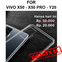 Soft Case Vivo X50 - X50 Pro - Y20 casing back cover tpu ULTRA CLEAR