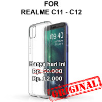 Soft Case Realme C11 - C12 casing back cover tpu silikon ULTRA CLEAR
