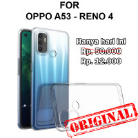 Soft Case Oppo A53 - Reno 4 casing back cover tpu silikon ULTRA CLEAR