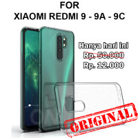 Soft Case Xiaomi Redmi 9 - 9A - 9C casing back cover tpu ULTRA CLEAR