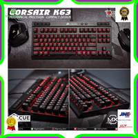 Corsair K63 Red LED Mechanical Keyboard - Corsair K63 Cherry MX