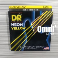 Senar Bass DR String Neon Yellow NYB45 45105