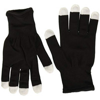 LED Party Gloves, Bright Electric, One Pair