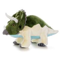 "Aurora Plush Triceratops Dinoasur - 12"""