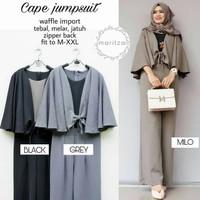 Baju Gamis remaja kekinian Wanita Muslim Terbaru Cape Jumpsuit murah