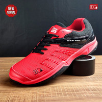 Badminton G-One Anti Generation Bulutangkis Sepatu Hi-Qua Olahraga Ori