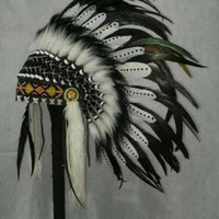 suku Topi kepala indian