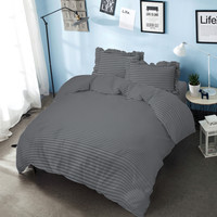 Bed Cover King 180 Cool Gray Kintakun D'luxe Microfiber (6in1) T 30