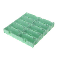 SMD SMT Box IC Electronic Components Storage 75x31.5x21.5mm